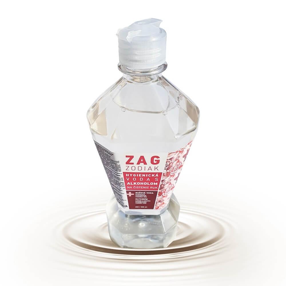 Hygienická voda na ruky s obsahom 70 % alkoholu - 500ml