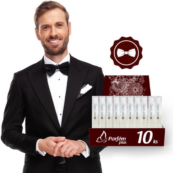 Elegantné Vône Pánske - 10ks