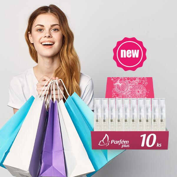 NOVINKY Dámske vône - 10ks